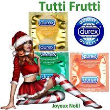❤ DUREX PLEASURE FRUITS ❤ MIX de 20 préservatifs colorés & parfumés (3 parfums)