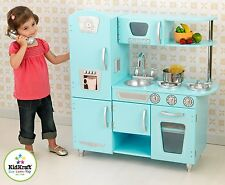 KidKraft Blue Vintage Kitchen Playset 53227 New