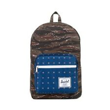 Herschel Supply Co Pop Quiz 600D Poly Backpack in Tiger Camo/Hyde NWT