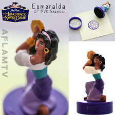 Hunchback of Notre Dame Esmeralda PVC Figure Stamper Disney Applause vintage