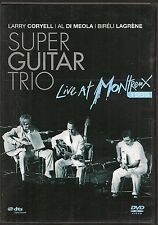 DVD ALL ZONES CONCERT--GUITAR TRIO / CORYELL-DI MEOLA-LAGRENE--LIVE MONTREUX 89