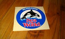 Vintage 1980 Sea World Park Map LEGEND OF SHAMU Night Magic Killer Whale RARE!