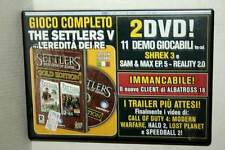 THE SETTLERS HERITAGE OF KINGS GOLD EDITION USATO PC DVD VER ITALIANA GD1 47569
