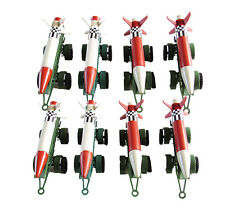 8 Piece Army Missiles with Launch Pad with Wheels - 4 inches