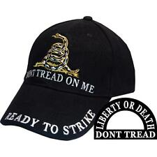 DONT TREAD ON ME - READY TO STRIKE - LIBERTY OR DEALTH HAT