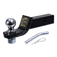 "2"" Class III Loaded Ball Mount Hitch Receiver Trailer For Pickup Truck  SUV New"