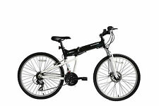 "Ecosmo 26"" Wheel Lightweight Alloy Folding MTB Bicycle Bike 17.5""- 26AF18BL"