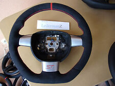 Ford Focus ST MK2 custom soft suede Alcantara flat bottom steering wheel not RS