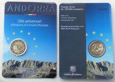 """2 Euro Andorra 2014 """"20 Jahre Europarat"""" unz"""