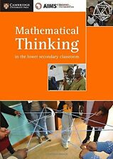 AIMSSEC Maths Teacher Support Series Mathematical Thinking in the Lower Secondar