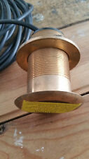 AIRMAR B117 BRONZE 600w THRU HULL TRANSDUCER with 8 pin LOWRANCE PLUG