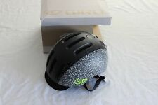 New Giro Reverb Bike Helmet Matte Black White Large Road Urban Commute Visor