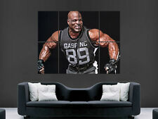 RONNIE COLEMAN MR OLYMPIA CHAMPION BODYBUILDER ART WALL LARGE IMAGE GIANT POSTER