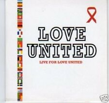 (D203) Love United, Live for Love United - DJ CD