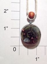 Orgonite Necklace/Pendant-Crystal Healing Energy Device-Aura Booster-Ohm/Aum-137