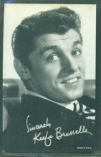 1950'S EXHIBIT ARCADE CARD ACTOR KEEFE BRASSELLE NM
