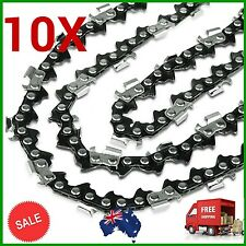 "10XCHAINSAW CHAIN SEMI CHISEL 3/8 058 68DL for Husqvarna 18"" Bar Husky Saw Chain"