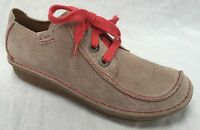 BNIB Clarks Ladies Funny Dream Shingle Suede Lace Up Shoes