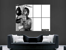 ROCKY BILBOA CLASSIC MOVIE  BOXING WALL POSTER ART PICTURE PRINT LARGE