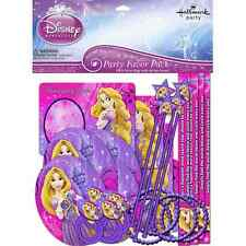 Tangled Sparkle Disney Princess Rapunzel Kids Birthday Party 48 pc. Favor Pack