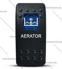 Labeled Contura II Rocker Switch Cover ONLY, Aerator (Blue Window)