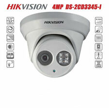 Hikvision DS-2CD3345-I 4MP FHD POE IR H.265 EXIR Turret Network Dome CCTV Camera