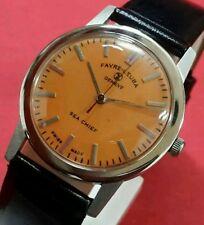 Vintage  favre leuba geneve seachief  winding swiss working wrist watch OO6081
