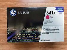 Genuine Sealed HP 641A Toner C9722A MAGENTA Laserjet