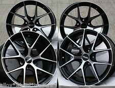 "18"" BMF GTO ALLOY WHEELS FITS RENAULT VOLVO PEUGEOT MERCEDES BENZ 5X108 ONLY"
