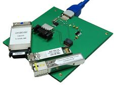 Programmer, test board transceivers: GBIC SFP SFP+, make compatible. Model No1.
