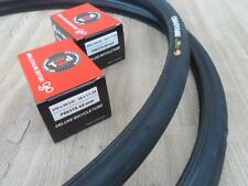 New 650X23c Pair of BLACK Tires and Tubes 650c Cycling Road Tires *Free Shipping
