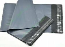 25 Grey Packaging Plastic Envelopes Bags Size A15 (400 x 500mm) Polythene Bags