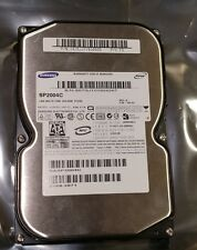 "Samsung SP2004C 200GB SATA II 3.5"" 7200 RPM 8 MB Cache Hard Drive Tested/Wiped"
