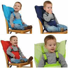 Infant 2 Straps Belt Seat High Chair Kids Portable Travel Fashion Soft Safety