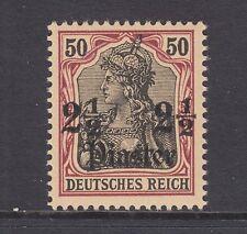 Germany Off Turkey Sc 37 MNH. 1905 2½p on 50pf Germania, VF