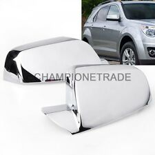 Chrome Rear View Side Mirror Cover For 2010-2016 GMC Terrain/Chevy Equinox CT