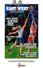 Girl's EAST/WEST Lacrosse Posters, by Tommy Johnson, Laxartist.com