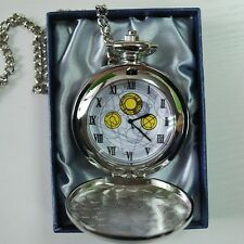 10th DR Doctor Who The Master's Fob Watch David Tennant Metal Pocket Watch