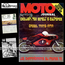 MOTO JOURNAL N°90 KAWASAKI MONTESA COTA 49 BATACLAN BMW R50 ANGEL NIETO 1972