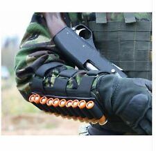 Hunting Tactical Ammunition Belt Military Shotgun Shell Ammo Arm 20 Gauge Gun 12