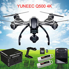 YUNEEC Typhoon Q500 4K Quadcopter w/ CGO3-GB 4K Camera ,Grip, Case,Extra Battery