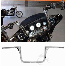 "Chrome 1 1/4"" 14"" Rise Ape Hanger HandleBar For Harley Touring Models 1982-2016"