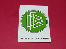 23 BADGE WAPPEN DFB RFA BRD PANINI WORLD CUP STORY 1990 SONRIC'S