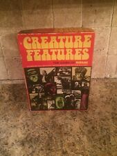 CREATURE FEATURES THE GAME OF HORROR BOARD GAME UNIVERSAL MONSTERS GAME