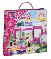 MEGA BLOKS 80224 BARBIE BUILD 'N STYLE PET SHOP - 98 PCS