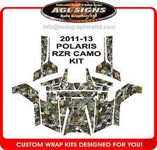 2011 - 2013 POLARIS RZR 800 CAMO WRAP KIT  GRAPHIC  DECALS 1000