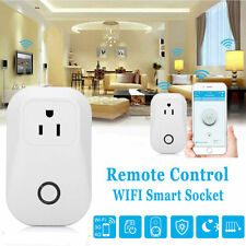 DIY Wifi Wireless Phone Remote Control Timer Smart Plug Switch Socket Outle