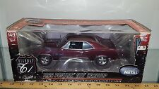 1/18 HIGHWAY 61 COLLECTIBLES 1966 PONTIAC GTO HARDTOP BURGUNDY yd