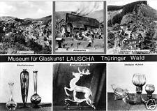 AK, Lauscha Thür. Wald, Museum für Glaskunst, sechs Abb., 1978