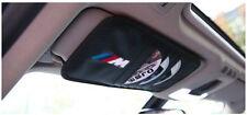 Car Sun Visor 8 Slots CD DVD Card Truck Storage Holder Cover Bag For BMW Black